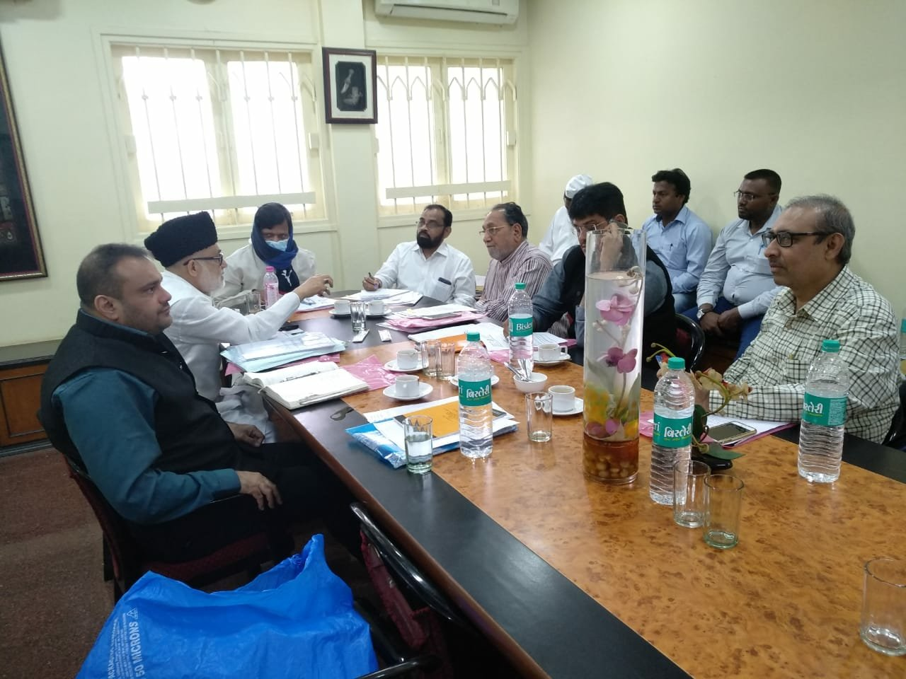 State wakf board meeting held at Mumbai